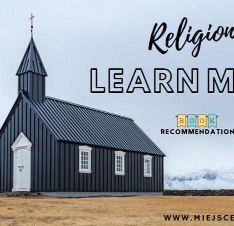 Religie – dowiedz się więcej – 2 propozycje książkowe.